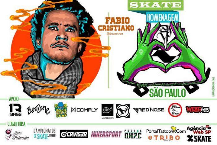 Skate Homenagem São Paulo Apresenta Fabio Cristiano – (Clique e Compartilhe)