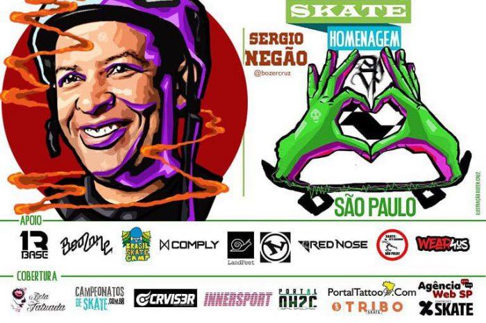 Skate Homenagem São Paulo Apresenta Sergio Negão – (Clique e Compartilhe)