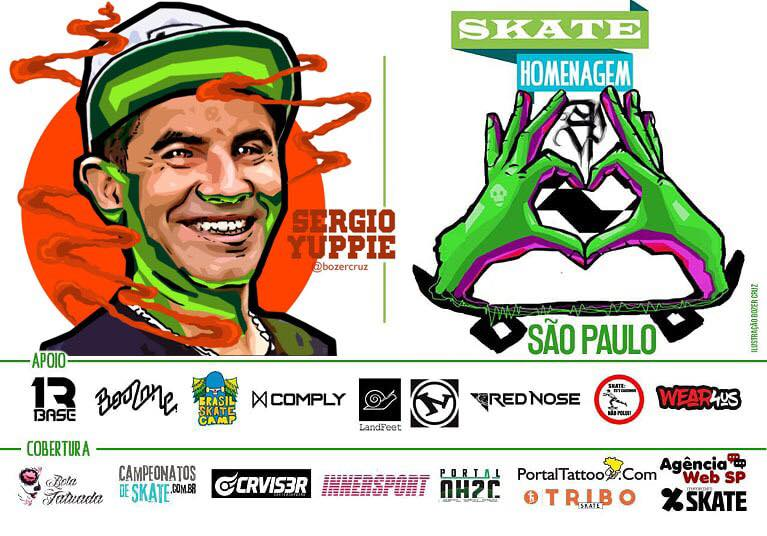 Skate Homenagem São Paulo Apresenta Sergio Yuppie – (Clique e Compartilhe)