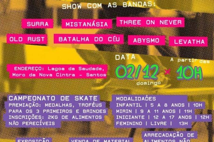 """Underground Street Fest """"2ª Edição Santos"""" + Zumbi Skate Arte Music – (Clique e Compartilhe)"""