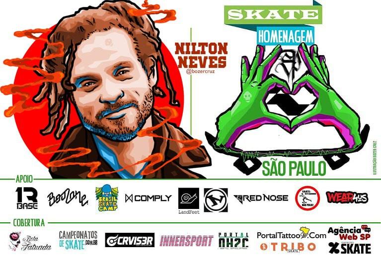 Skate Homenagem São Paulo Apresenta Nilton Neves – (Clique e Compartilhe)