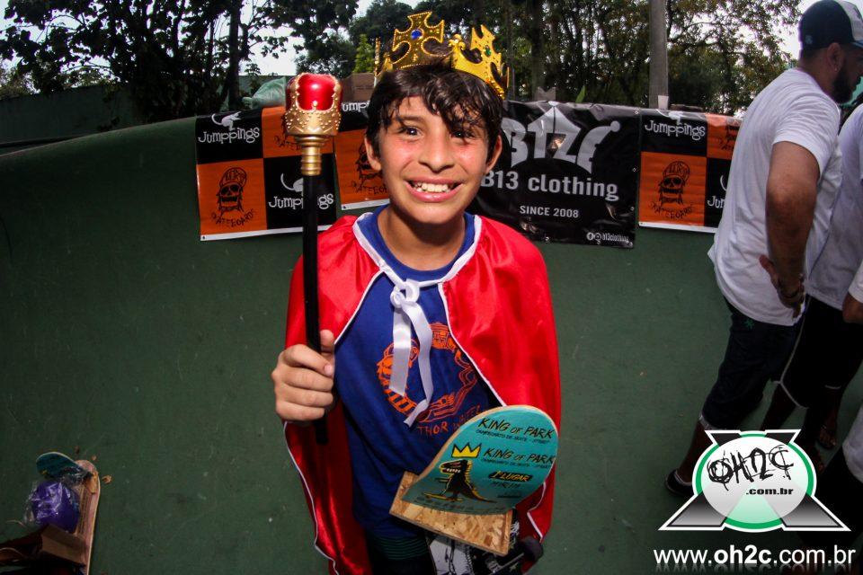 """Confira os Novos King and Queen de 2018 da 2° Edição do King Of Park """"Campeonato de Skate – Street"""" - (Clique e Compartilhe)"""