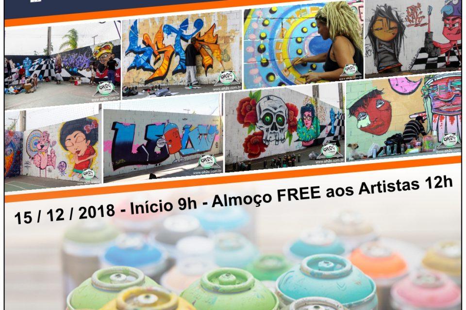 19ª Mostra de Graffiti e Festa de Natal do Hip Hop Acontece dia 15/12 no Guarujá/SP - (Clique e Compartilhe)