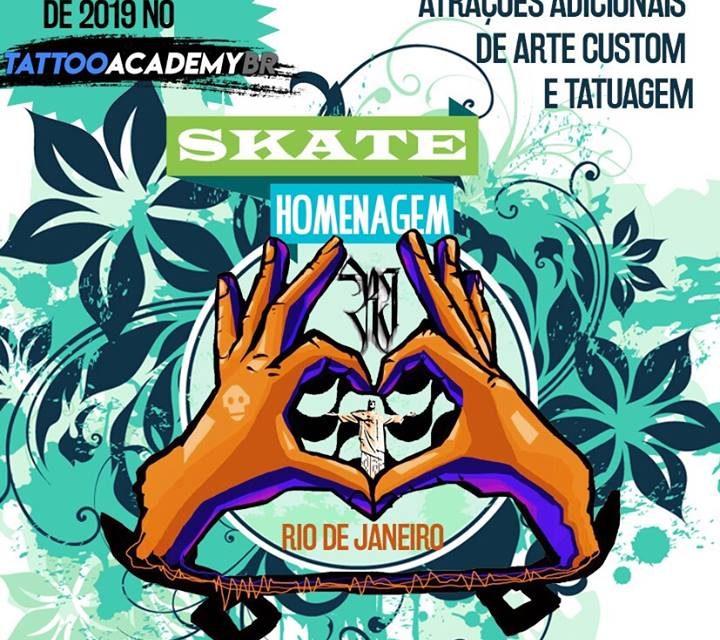 Skate Homenagem RJ na Capital Carioca - (Clique e Compartilhe)