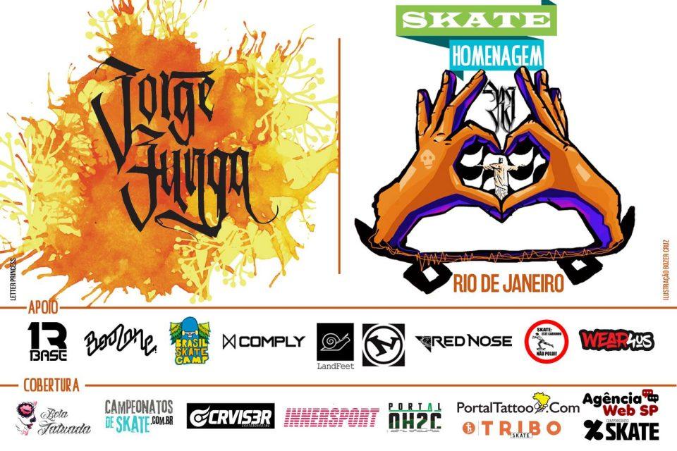 Skate Homenagem Rio de Janeiro Apresenta Jorge Zunga – (Clique e Compartilhe)