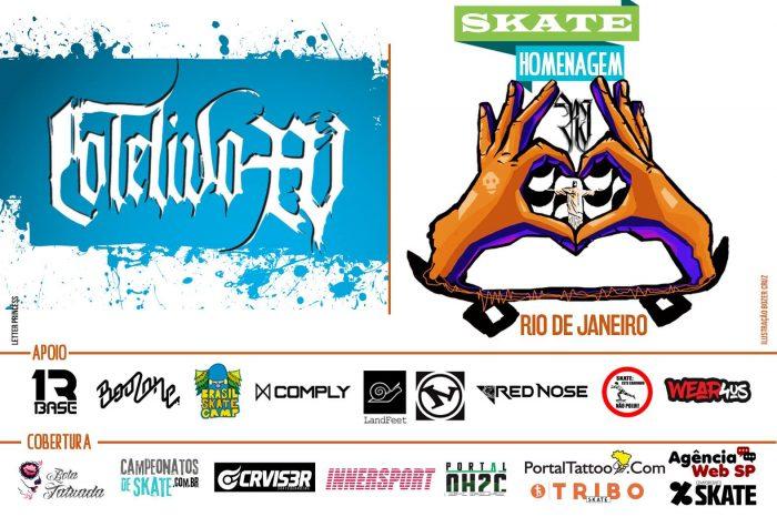Skate Homenagem Rio de Janeiro Apresenta Coletivo XV – (Clique e Compartilhe)