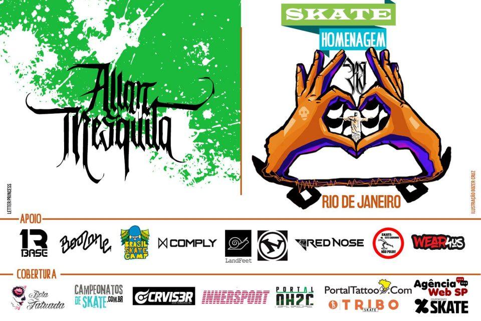 Skate Homenagem Rio de Janeiro Apresenta Allan Mesquita – (Clique e Compartilhe)