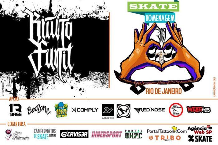 Skate Homenagem Rio de Janeiro Apresenta Bruno Funil – (Clique e Compartilhe)