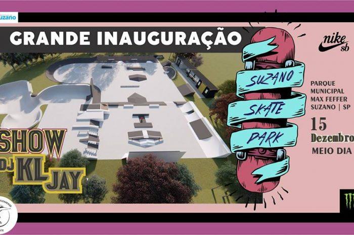 Grande Inauguração da Suzano Skate Park com Presença do Dj Kl Jay - (Clique e Compartilhe)