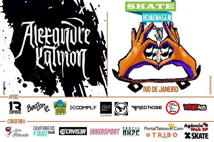 Skate Homenagem Rio de Janeiro Apresenta Alexandre Calmon - (Clique e Compartilhe)