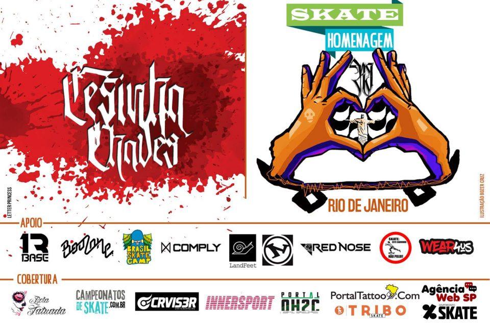Skate Homenagem Rio de Janeiro Apresenta Cesinha Chaves – (Clique e Compartilhe)
