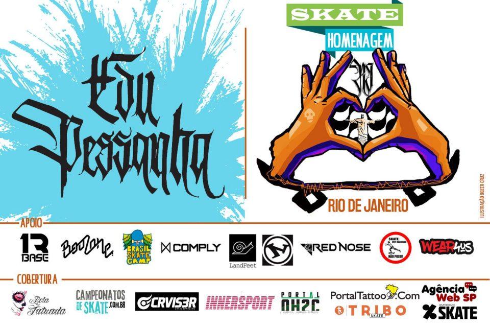 Skate Homenagem Rio de Janeiro Apresenta Edu Pessanha – (Clique e Compartilhe)
