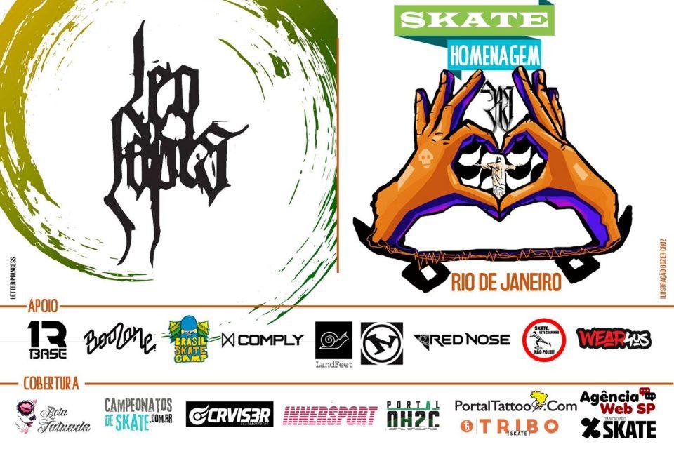 Skate Homenagem Rio de Janeiro Apresenta Leo Lopes – (Clique e Compartilhe)