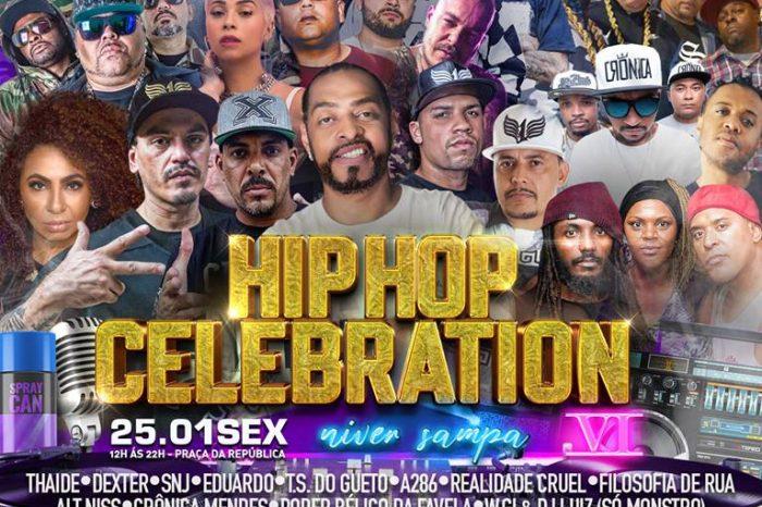 Hip-Hop Celebration Convida Rapper Thaíde no Aniversário de São Paulo - (Clique e Compartilhe)