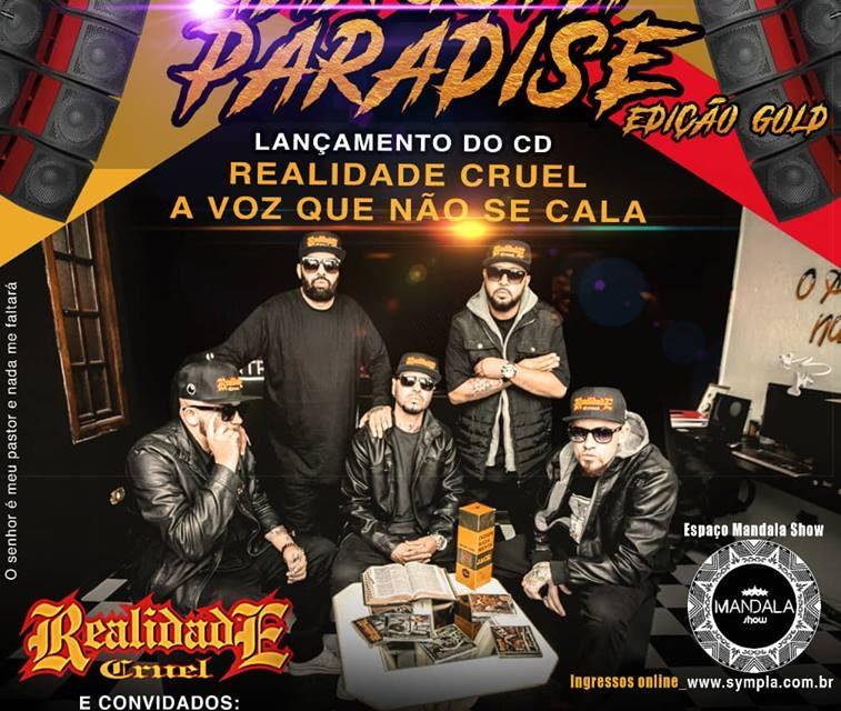 """De Volta o Maior Festival de Rap do Brasil """"Gangsta Paradise - Edição Gold"""" – (Clique e Compartilhe)"""