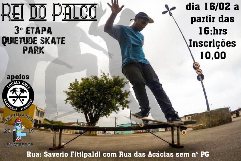 """Praia Grande """"Quietude"""" Recebe a 3° Seletiva de Skate do Rei do Palco – (Clique e Compartilhe)"""