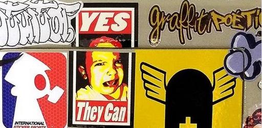 De 05 à 26/02 no Sesc Santos Oficina de Sticker Art - (Clique e Compartilhe)