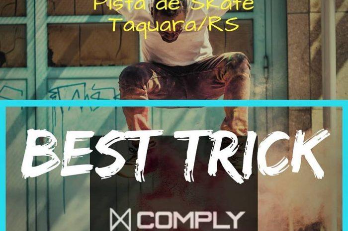 A Comply Brasil vem com tudo no 1° SKATE ARTE FESTIVAL em Taquara/RS - (Clique e Compartilhe)