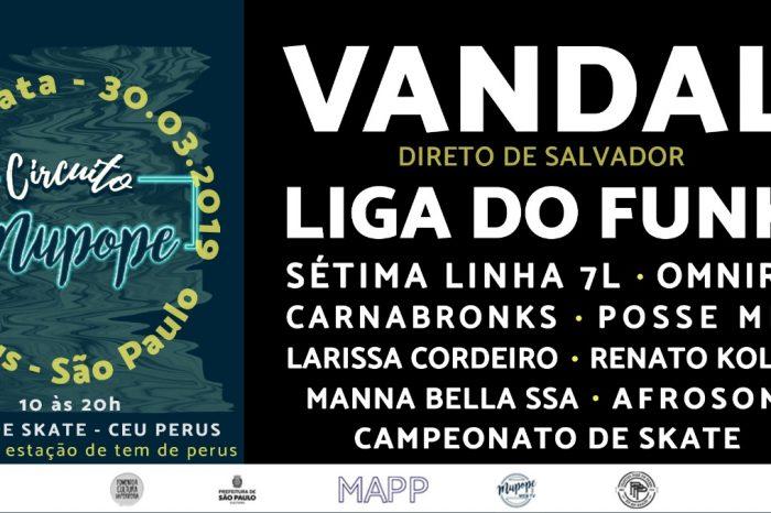 Diretamente de Salvador/BA para o Circuito Mupope em Perus/SP o Rapper Vandal - (Clique e Compartilhe)