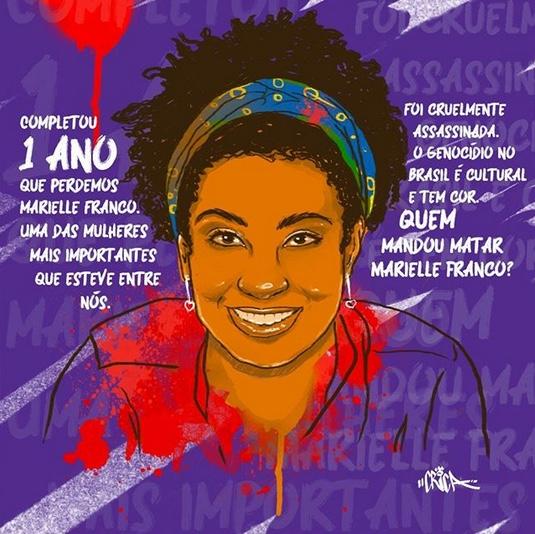 Queremos Respostas! Já Completou 1 Ano que Marielle Franco Foi Assassinada - (Clique e Compartilhe)