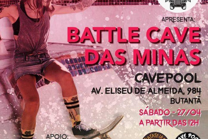 """Red Bull Mano Apresenta """"BATTLE CAVE DAS MINAS""""  na CavePool em SP - (Clique e Compartilhe)"""