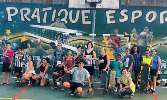 Profº Leonardo Cabelinho Inicia Projeto Pé na Base com Aulas Gratuitas em São Vicente/SP - (Clique e Compartilhe)