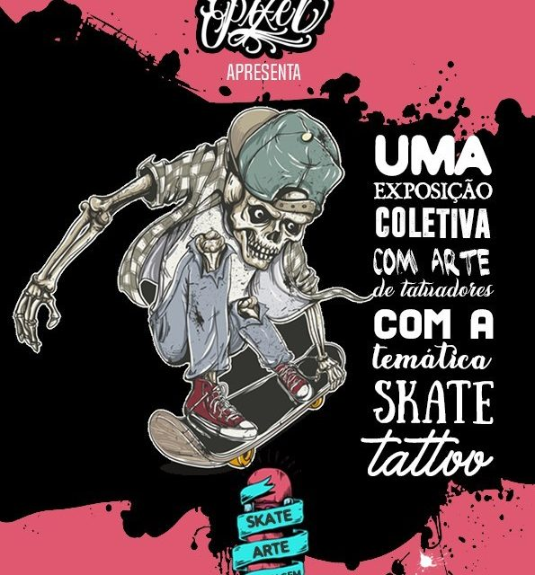 """Mondo Pixel Apresenta - Skate Arte Homenagem """"Expo Coletivo Temática Skate"""" - (Clique e Compartilhe)"""