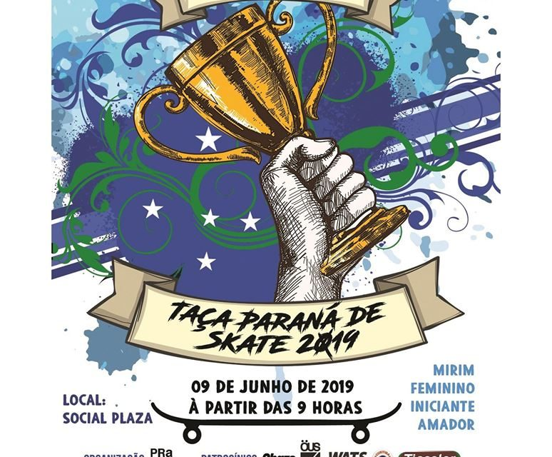 """Comply Apresenta Taça Paraná de Skate 2019 - """"Primeira Etapa"""" - Colombo/PR - (Clique e Compartilhe)"""