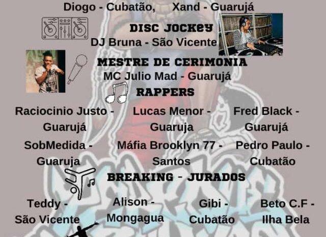 """Movimento Hip Hop Guarujá Apresenta """"Tarde do Hip Hop"""" no Bairro Perequê - (Clique e Compartilhe)"""