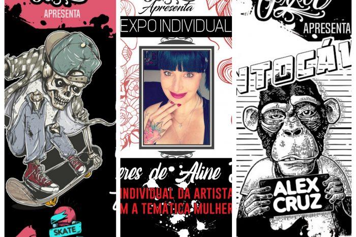 Mondo Pixel na 1° Edição do Santos Tattoo Festival Internacional - (Clique e Compartilhe)