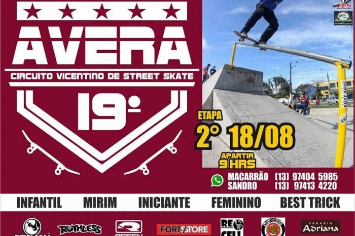 2ª Etapa da 19º Edição do Circuito AVERA de Skate Vicentino 2019 - Portal OH2C