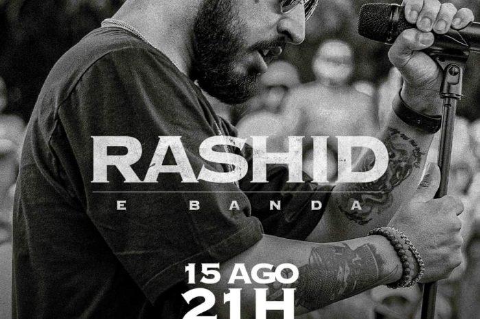 Rapper Rashid e Banda no Sesc Santos/SP - Portal OH2C