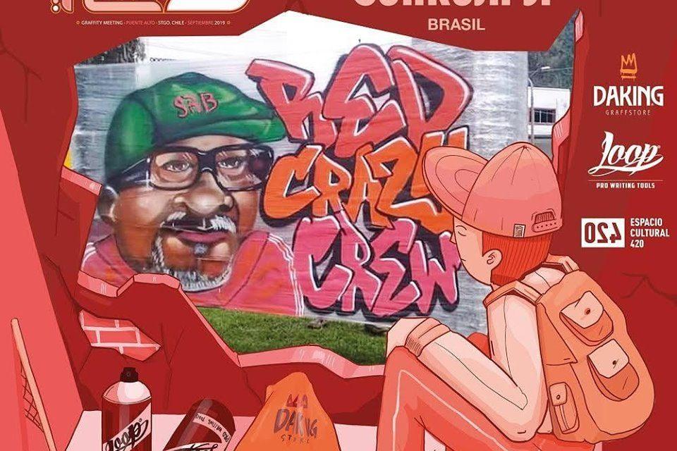 Graffiteiro do Guarujá/SP irá Representar a Cidade em Evento Internacional de Graffiti no Chile - Portal OH2C