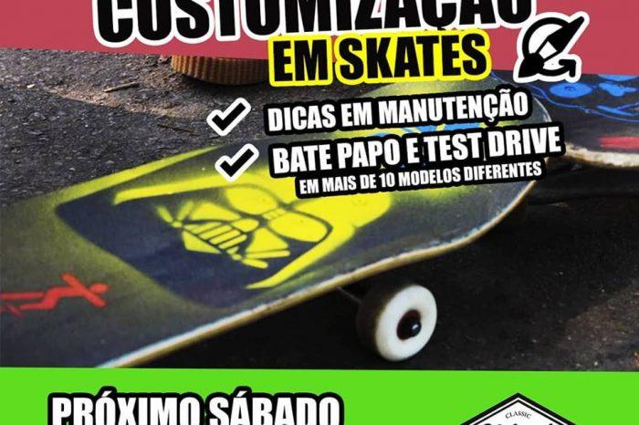 Oficina de Customização de Skates, Longs e Simuladores By Chicos - Portal OH2C