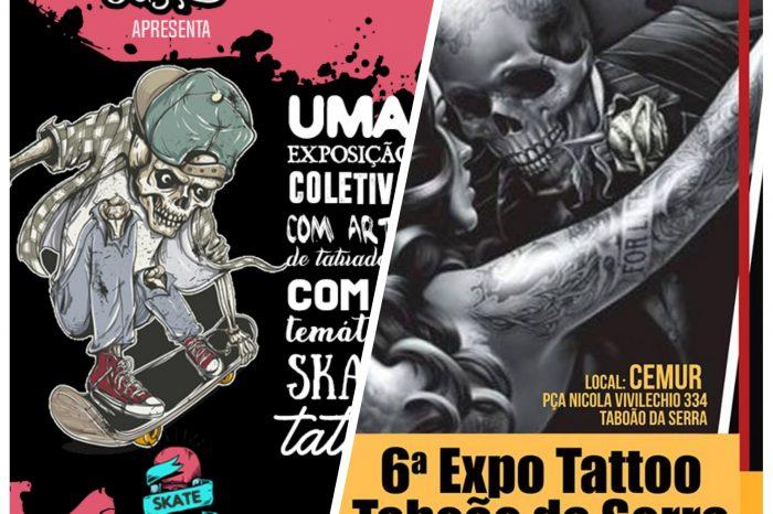 Skate Arte Homenagem no 6° Expo Tattoo Taboão da Serra - Portal OH2C