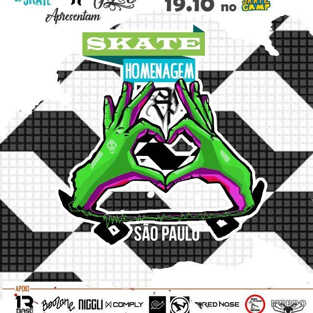 Skate Homenagem SP no Brasil Skate Camp - Portal OH2C