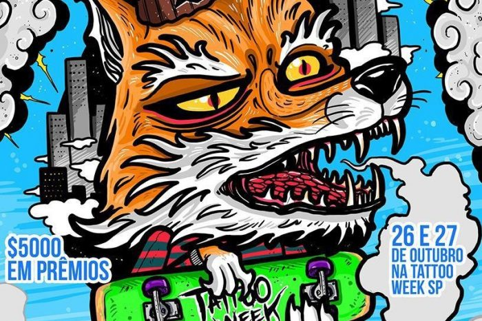 Desafio Skate Freestyle no Tattoo Week São Paulo - Portal OH2C