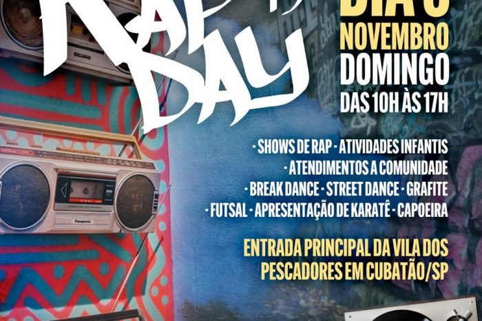 19º Edição do Rap Day na Vila dos Pescadores em Cubatão/SP - Portal OH2C