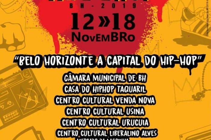 """Semana Hip Hop BH 2019 """"5° Edição"""" - Portal OH2C"""