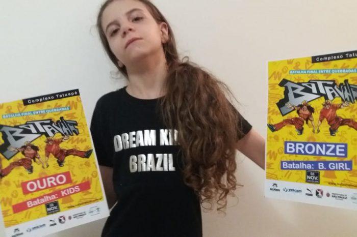 Menina de 9 Anos Ganha Campeonato de Breaking dentro do Shopping Tatuapé - Portal OH2C