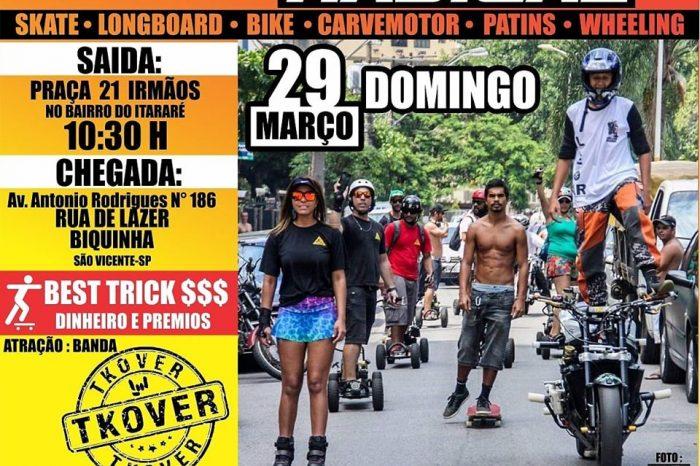 4ª Caminhada Radical em Comemoração ao Dia do Skatista Vicentino - Portal OH2C
