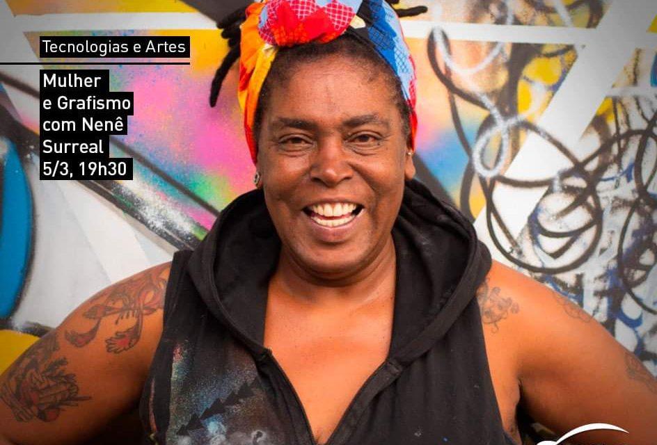 Bate-Papo de Grafismo e Arte de Rua com Nenê Surreal no Sesc Santos - Portal OH2C