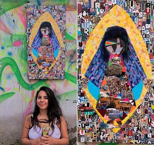 "Artista Nah Tintaliga Apresenta ""Obra Santa Rua - 2019/2020"" - Portal OH2C"