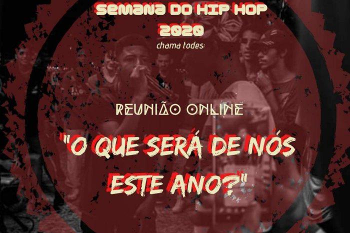 Movimento Hip Hop de Santos - Reunião OnLine Hoje às 20h - Portal OH2C