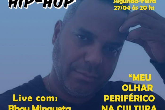 """Programação de Quarentena da Semana do Hip Hop de Santos """"Live B.Boy Mingueta"""" - Portal OH2C"""