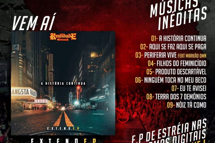 """Vem Ai - Novo CD do Grupo Realidade Cruel """"A História Continua"""" - Portal OH2C"""