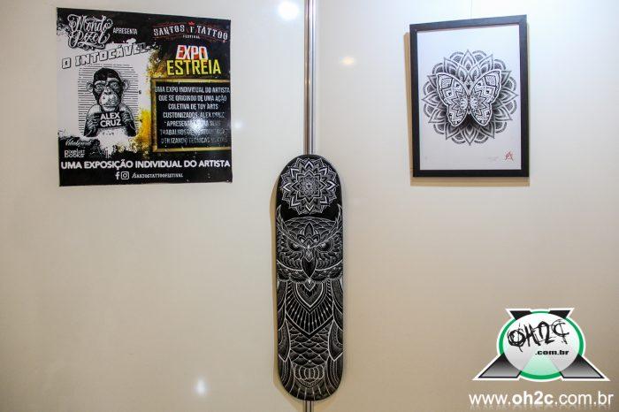 """Expo Individual do Tatuador Alex Cruz """"O Intocável"""" - Portal OH2C"""