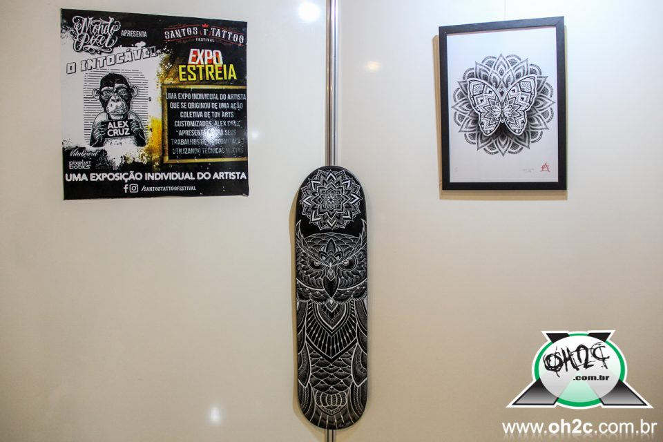 "Expo Individual do Tatuador Alex Cruz ""O Intocável"" - Portal OH2C"
