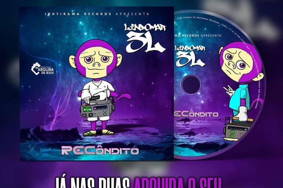 "Lindomar 3L Lança Novo CD ""RECôndito""  no Físico e Digital- Portal OH2C"