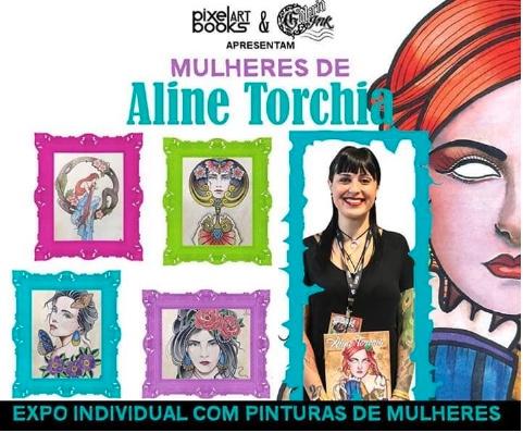 """Exposição Individual Mulheres de Aline Torchia """"Primeira Edição"""" - Portal OH2C"""